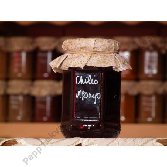 Chilis Áfonya gyümölcsdesszert