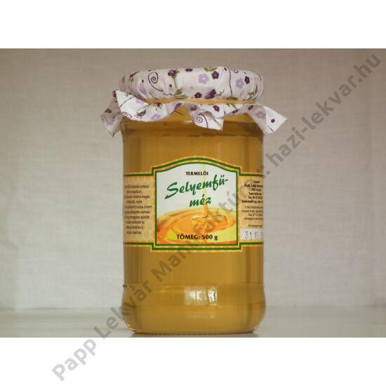 Selyemfű méz
