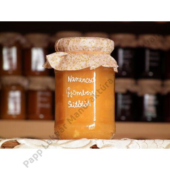 Narancsos-Gyömbéres Sütőtök Gyümölcsdesszert