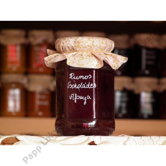 Rumos-Csokoládés Áfonya gyümölcsdesszert