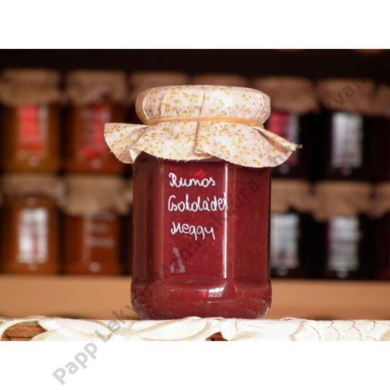 Rumos-Csokoládés Meggylekvár